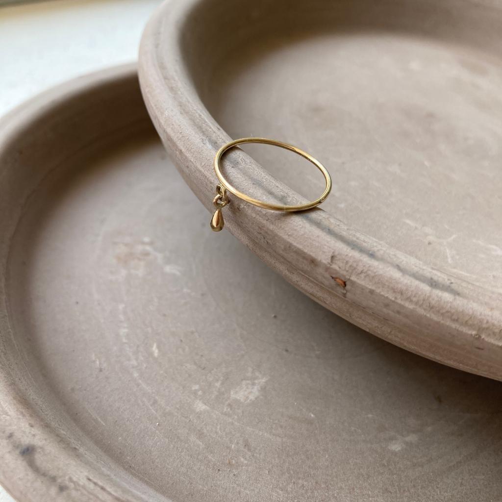 pierścionek gota