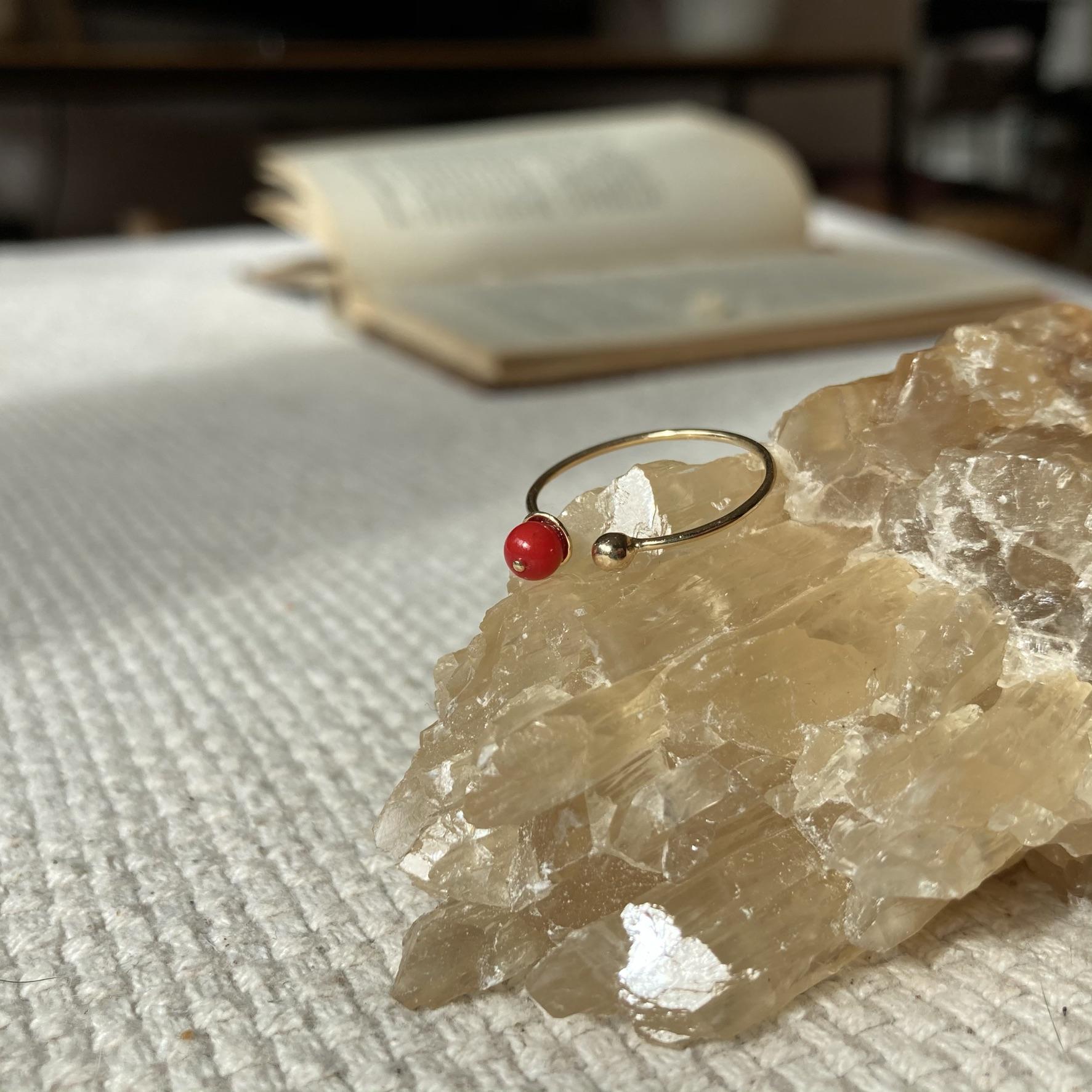 pierścionek Koraru