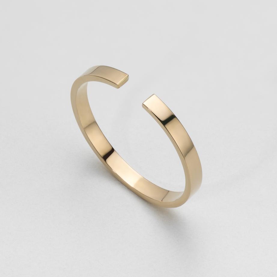 pierścionek pat szyna