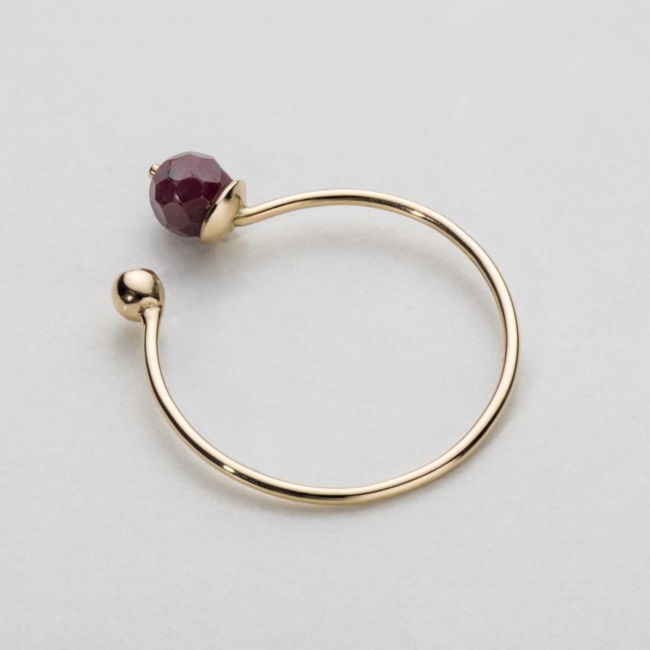pierścionek rara rubi