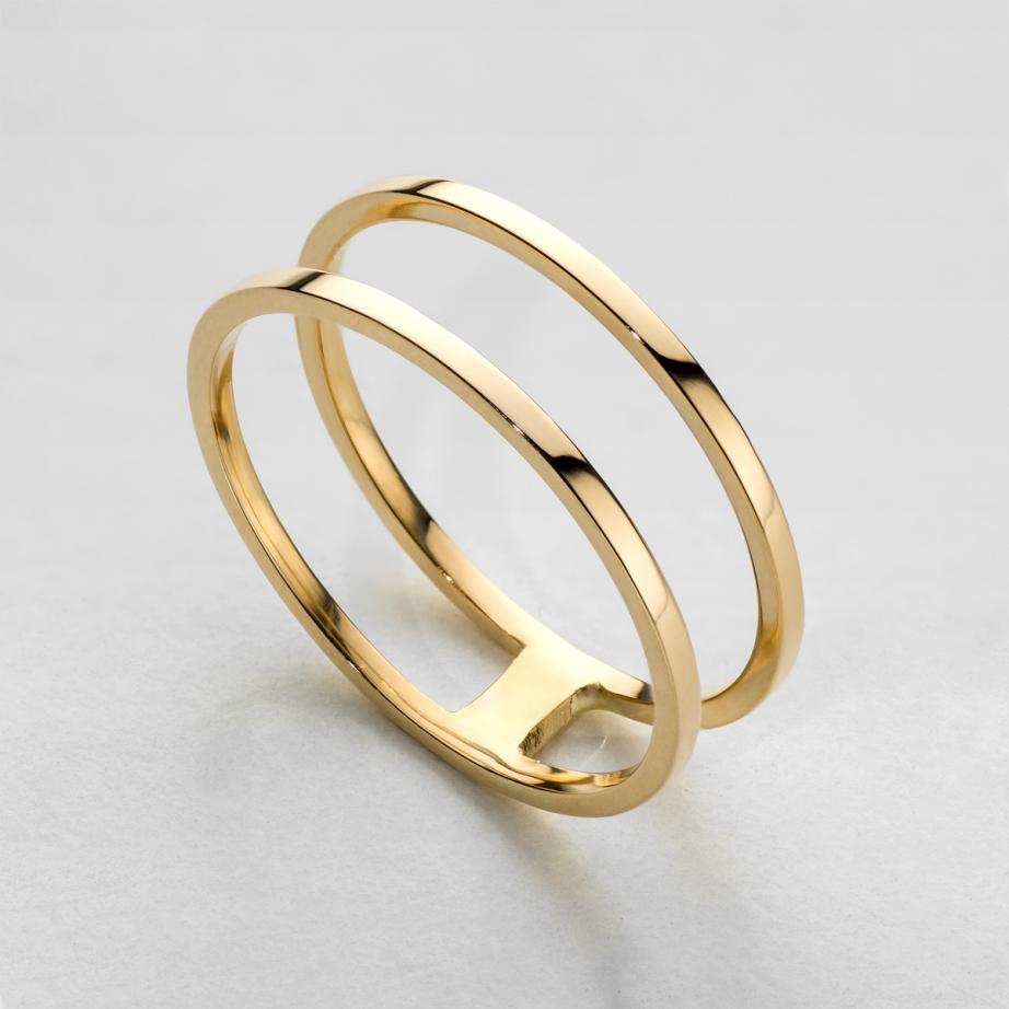 pierścionek double