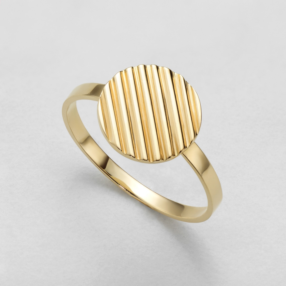 pierścionek raya paski