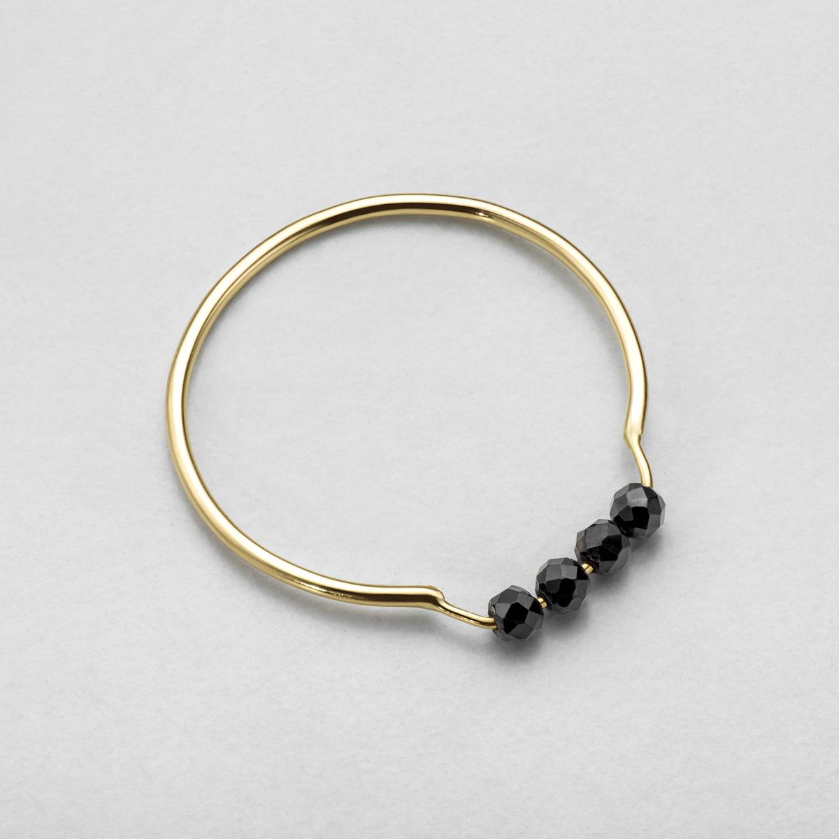 pierścionek black