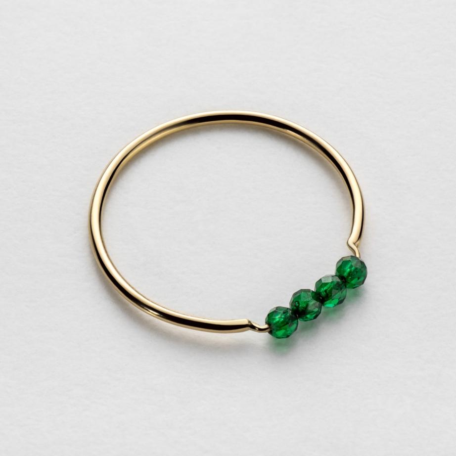 pierścionek green